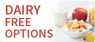 Dairy Free Options
